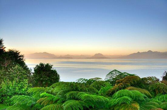 Lake Lago Ranco Chile by Daidalos