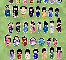 Creative Kokeshi, English version by Joumana Medlej