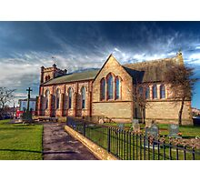 St Peter's Church Fleetwood - HDR Photographic Print