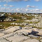 Peggy&#x27;s Cove-A Different View by George Cousins