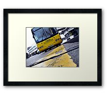 Yellow Bus Services  Framed Print