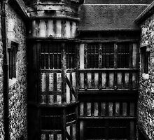 Interior Courtyard, Leeds castle by ElsieBell