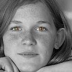 Green Eyed Beauty Queen by Jennifer  Arganbright