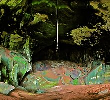 THE GREAT GREEN CAVE by NICK COBURN PHILLIPS