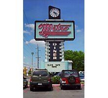 Route 66 - Metro Diner Photographic Print