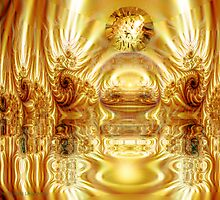 Throneroom Glory: Golden Splendor by lillis