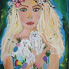 EOSTRE GODDESS OF SPRINGTIME by eoconnor