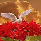 Goose in Flight by JacquiK