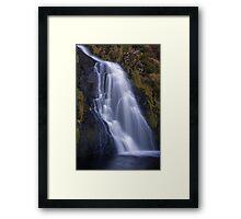 waterfall waterfall Framed Print
