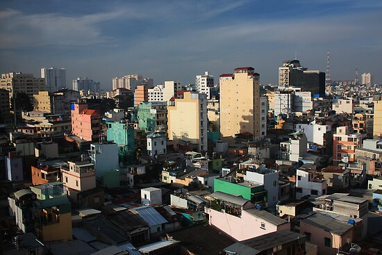 Good Morning Saigon by Timo Balk