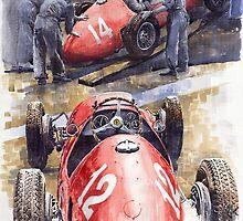 French GP 1952 Ferrari 500 F2 by Yuriy Shevchuk