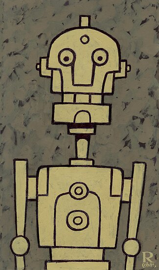 Robot Bob by Rob Colvin