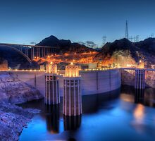 Hoover Dam by Eddie Yerkish