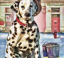 Firemans Friend ....Dalmation by Trudi's Images