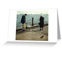 PigeonWalk Greeting Card