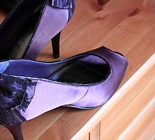Purple Heels by Kareena  Kapitzke
