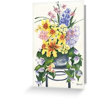 Spring At Last Greeting Card
