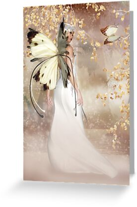 Any Ocasion Fairy Greeting Card - The Spirit Of Dawn by Moonlake