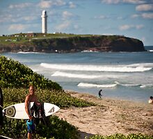 Kelly in the gong by steen