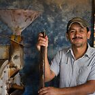 The Coffee Roaster - Antigua, Guatemala by Rhonda Dubin