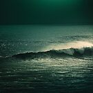Evening Wave - Bali Landscape by Cubagallery