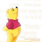 Winnie the Pooh - Love by Tom Skender
