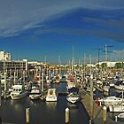 Townsville Yatch Club - Marina by Paul Gilbert