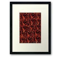 Burn For You Collage Framed Print
