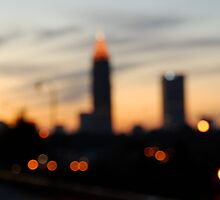 City Skyline - Atlanta, GA by mmerringer