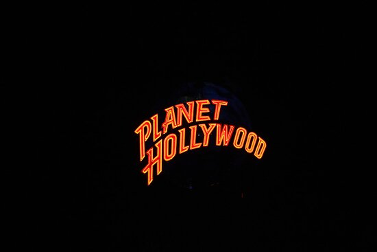 A Planet Hollywood Night by Henry L. Sampson
