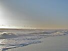 Sunrise Surf - Island Beach State Park, NJ by MotherNature