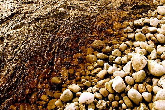 Stoney beach - Port, Donegal by heatherbyrne