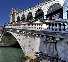 Rialto Bridge - Venice by paolo1955