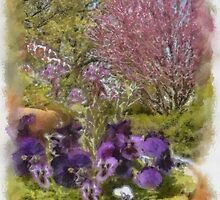 Redbud in the Spring by Kenneth Hoffman