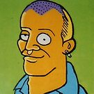Adam Spencer (after M. Groening) by Donnahuntriss
