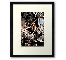 Spider Woman Framed Print