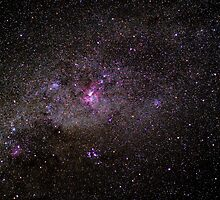 Eta Carina Nebula by Murray Wills