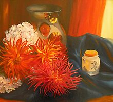 DAHLIAS by Beatrice Cloake