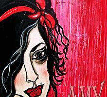 DEAR AMY... by Barbara Cannon  ART.. AKA Barbieville