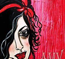 DEAR AMY... by Barbara Cannon  ART.. AKA Barbieville