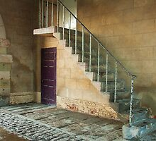 Stairs in the Stables of Elvaston Castle by Elaine123
