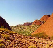 Las Olgas, Australia  by Alberto  DeJesus