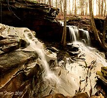 Waterfalls - Cumberland Trail Tennessee by mountainshadows