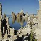 Mono Lake Reflections by Dawn Parker