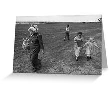 An older time in BW Greeting Card