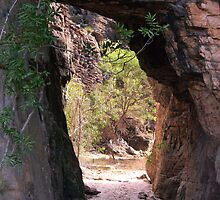 Natural tunnel Bardedjilidji - Kakadu by Ian Fegent