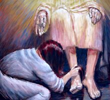 Foot Washing - Luke 7:36-50 by Yvan Strong