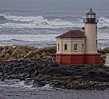 Coquille River Lighthouse by LucyAbrao