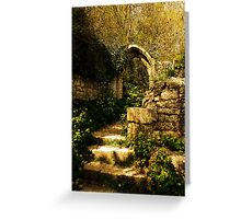 "The ""Pirate's Graveyard"" , Dorset, UK Greeting Card"