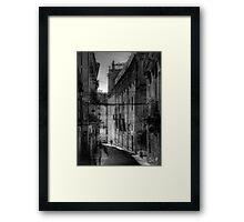 Small street in Alicante Framed Print